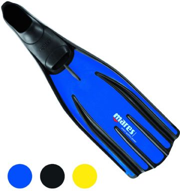 Mares - Full Foot Avanti Quattro Power Fins for Snorkelling and Diving